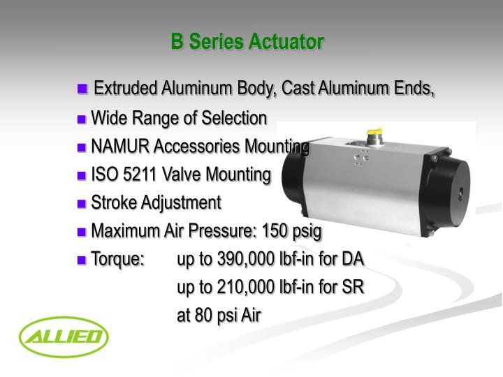 B Series Actuator