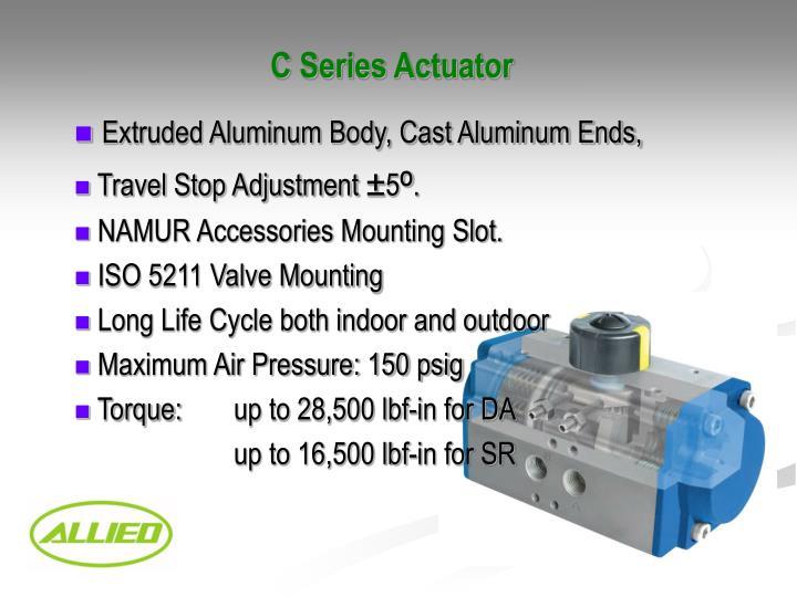 C Series Actuator