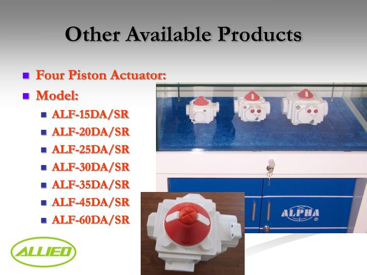Other Available Products