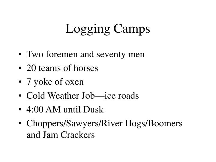Logging Camps