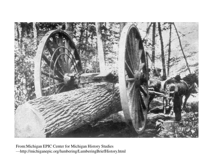 From:Michigan EPIC Center for Michigan History Studies