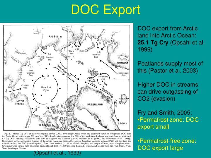 DOC Export