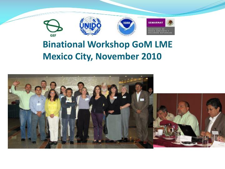 Binational Workshop GoM LME