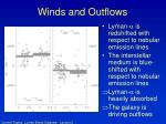 winds and outflows