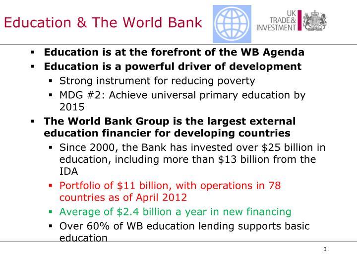 Education & The World Bank