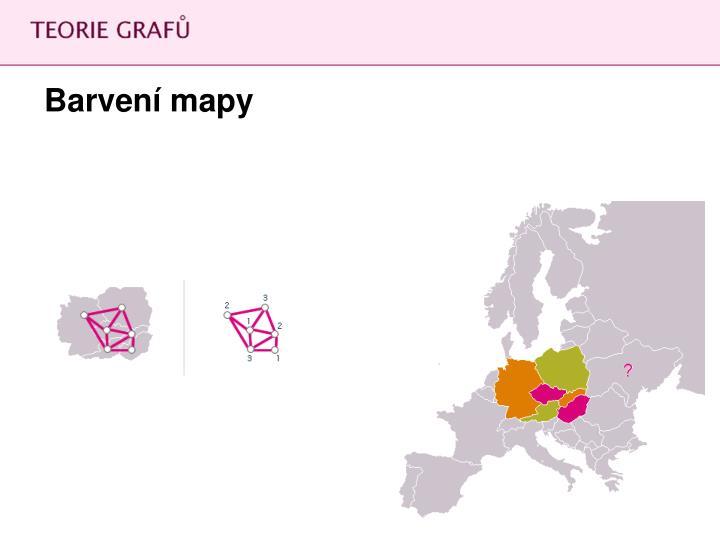 Barvení mapy