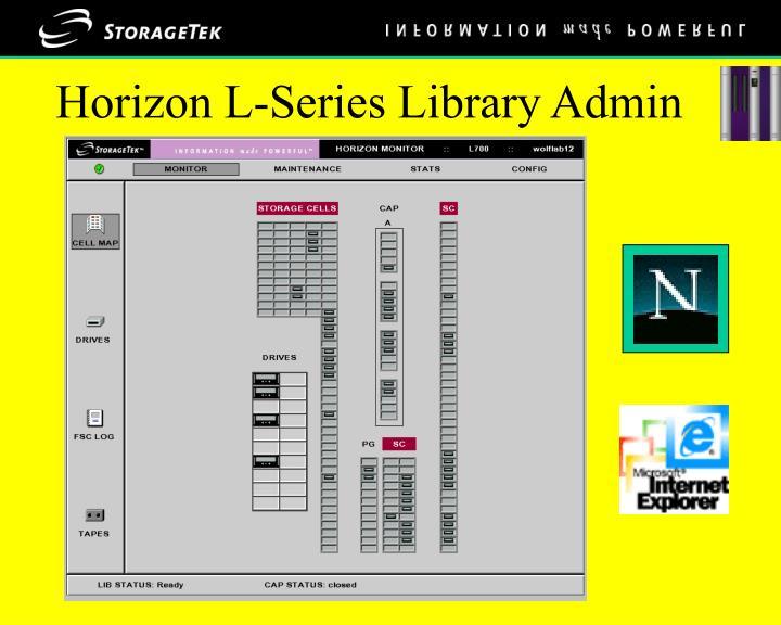 Horizon L-Series Library Admin