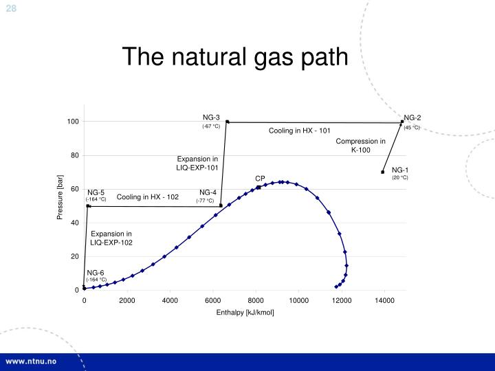 The natural gas path