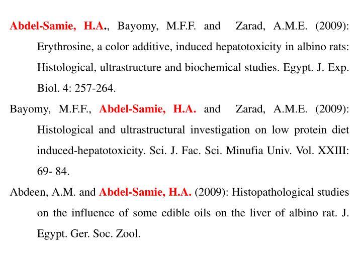 Abdel-Samie, H.A