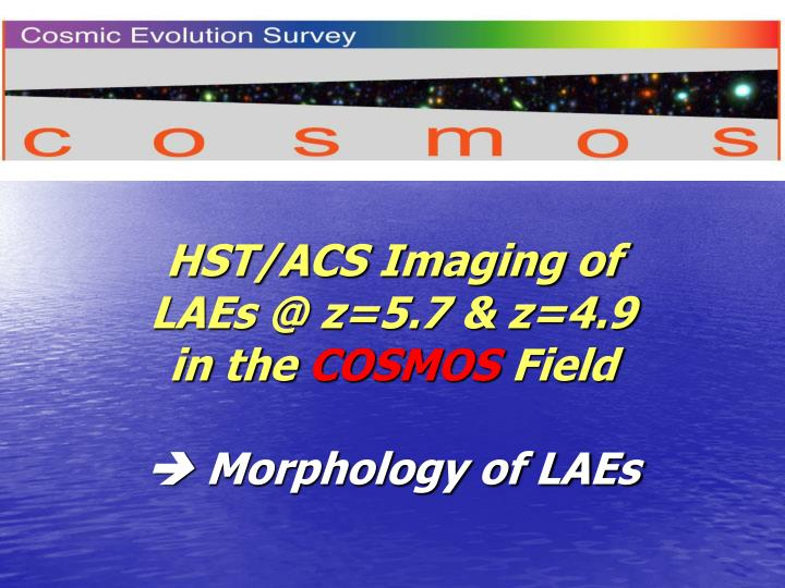 HST/ACS Imaging of
