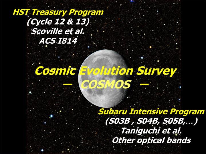 HST Treasury Program