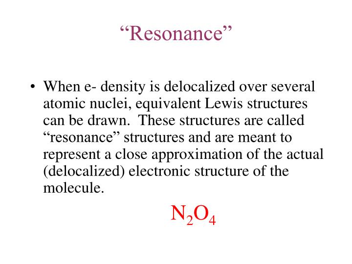 """Resonance"""