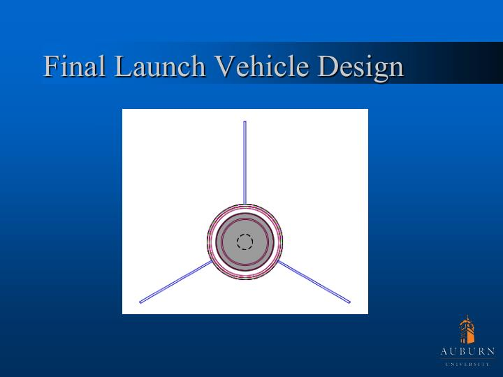 Final Launch Vehicle Design