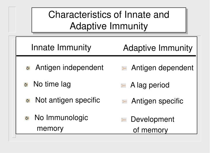No Immunologic