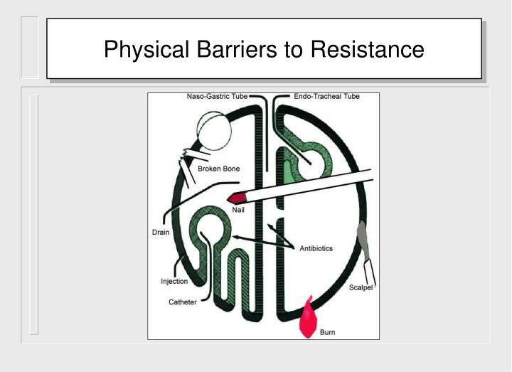 Physical Barriers to Resistance