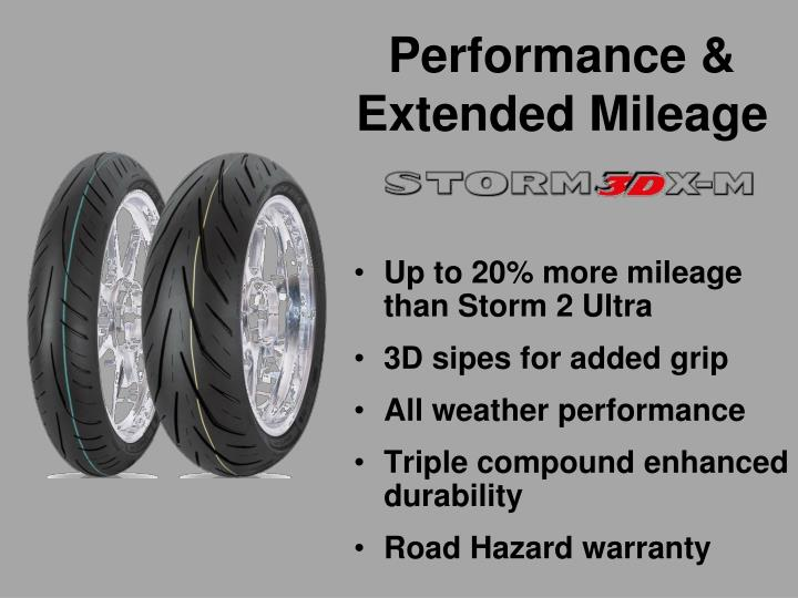 Performance & Extended Mileage