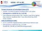 h2020 eit s jrc