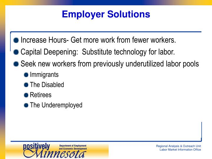 Employer Solutions