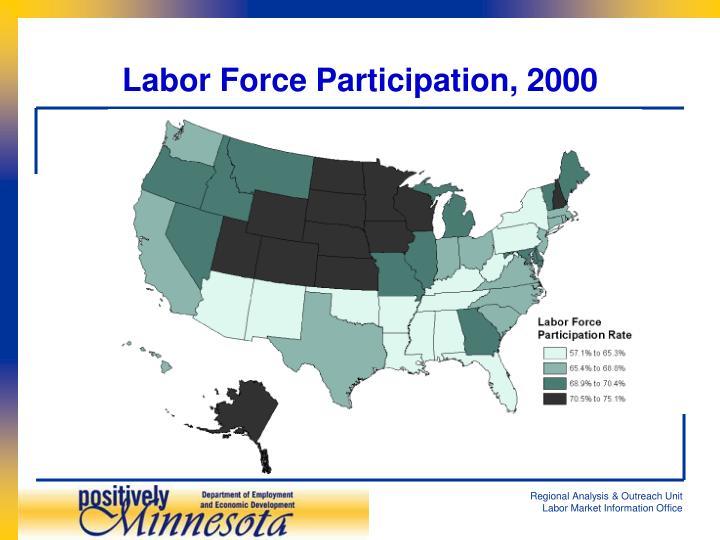 Labor Force Participation, 2000