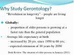 why study gerontology1