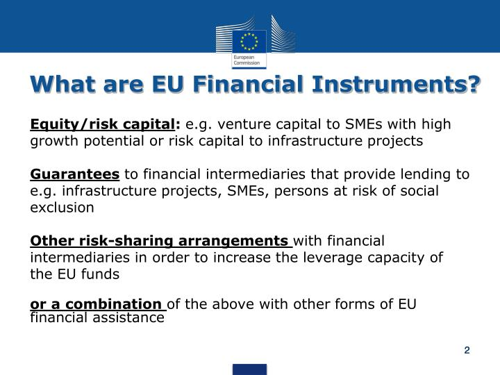 What are EU Financial Instruments?