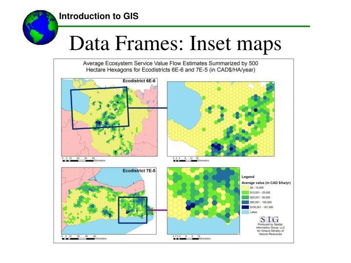 Data Frames: