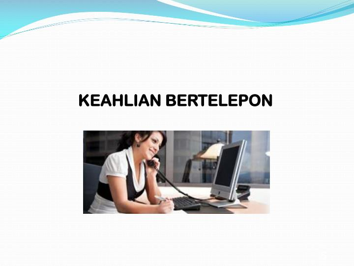 KEAHLIAN BERTELEPON