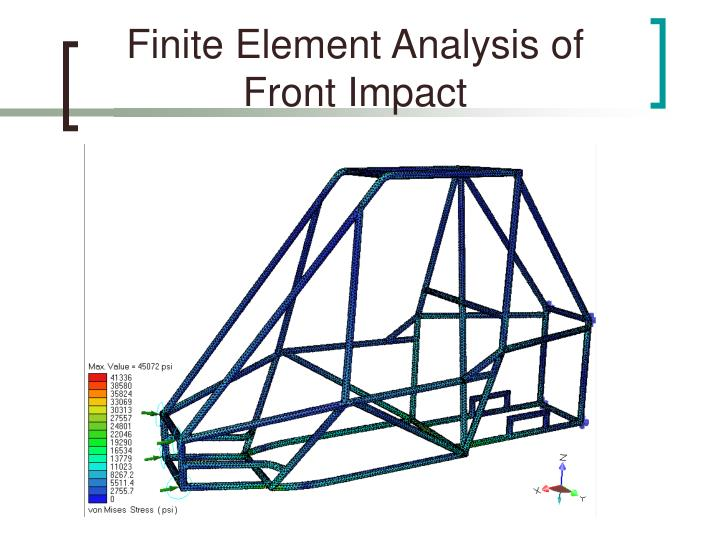 Finite Element Analysis of Front Impact