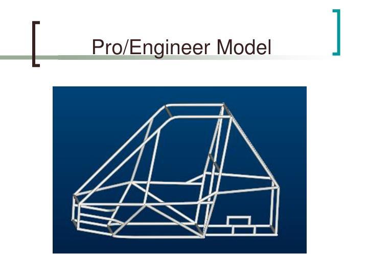 Pro/Engineer Model