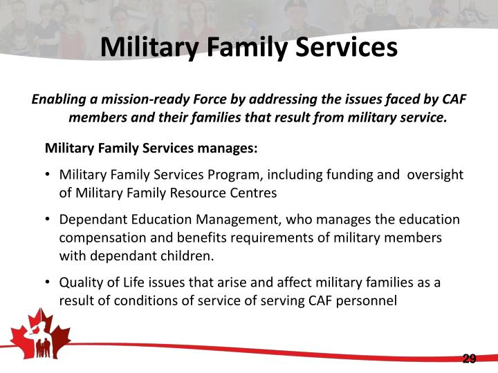 Military Family Services