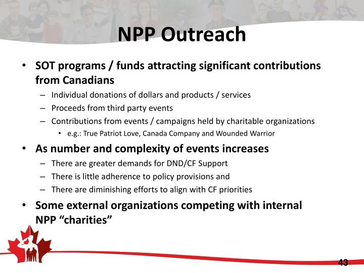 NPP Outreach