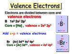 valence electrons1