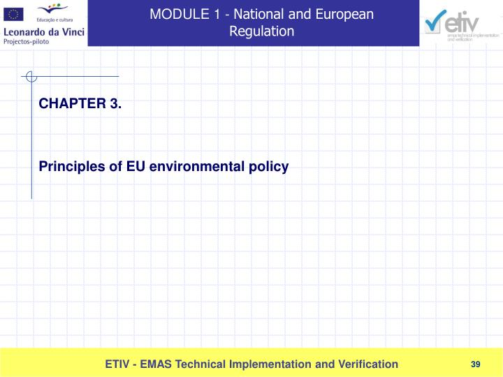 Principles of EU environmental policy