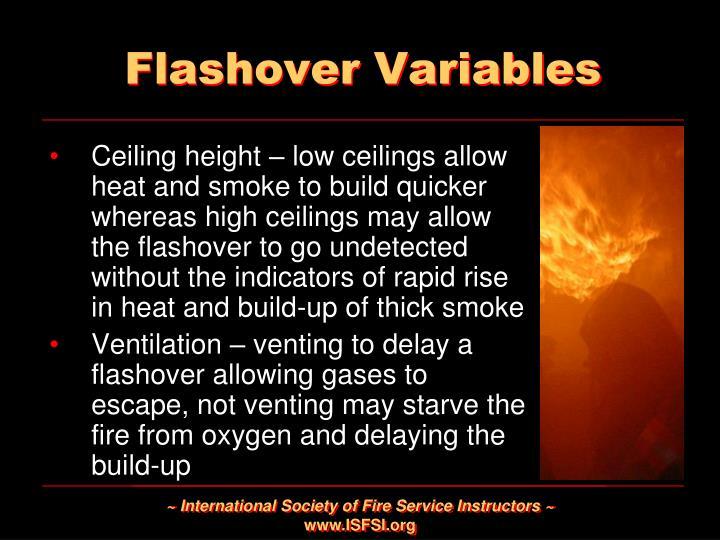 Flashover Variables