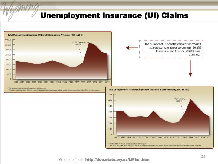 Unemployment Insurance (UI) Claims
