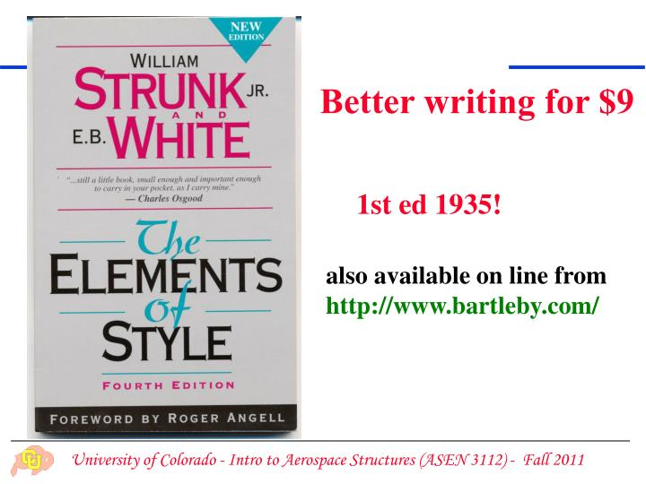 Better writing for $9