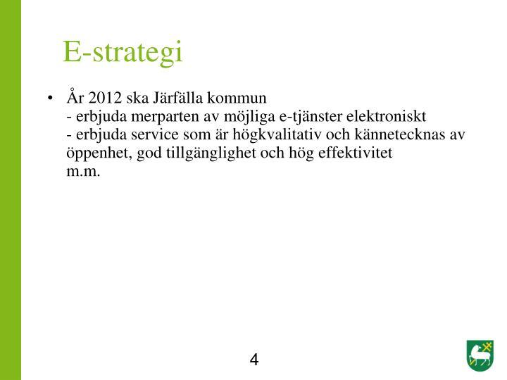E-strategi