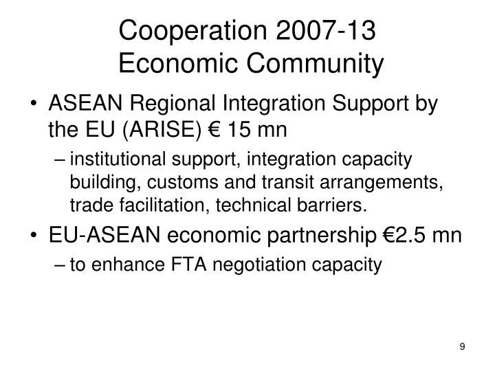 Cooperation 2007-13