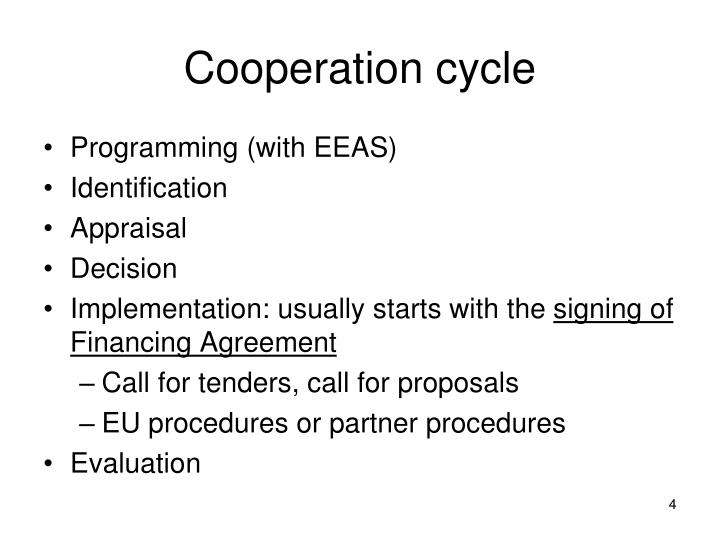 Cooperation cycle