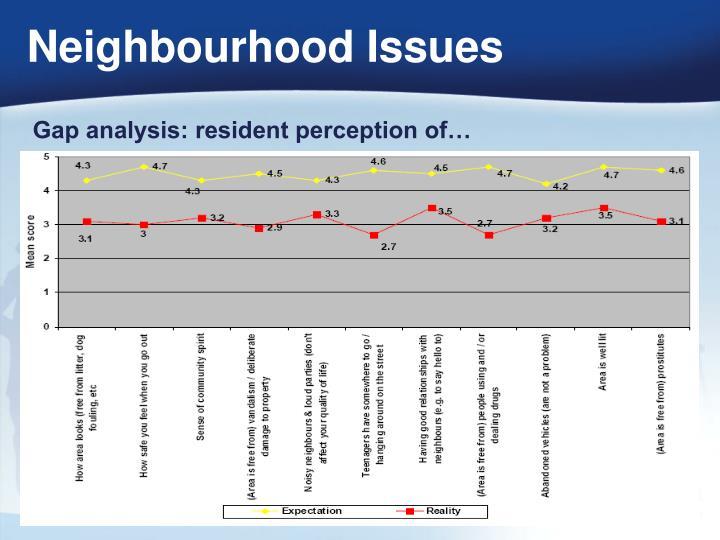Neighbourhood Issues
