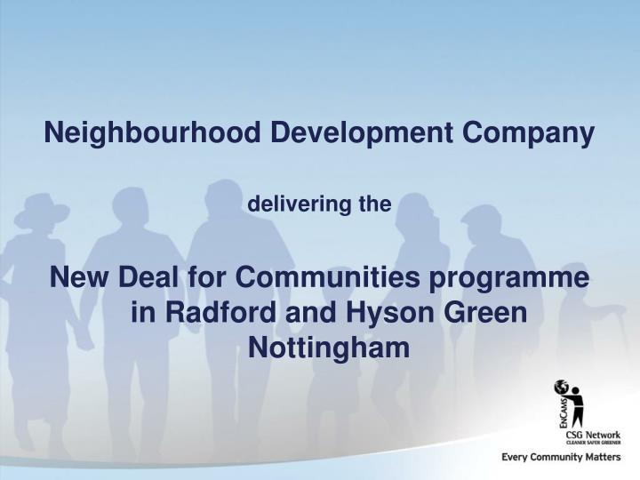 Neighbourhood Development Company