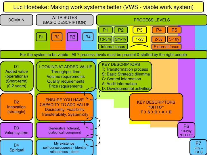 Luc Hoebeke: Making work systems better (VWS - viable work system)