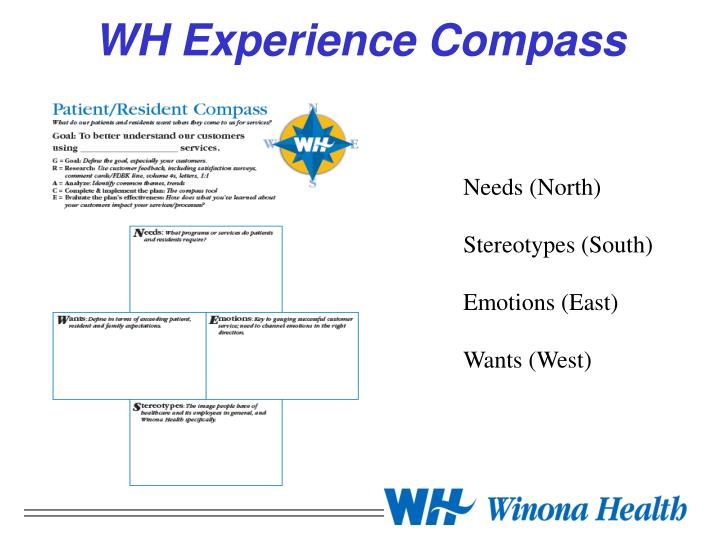 WH Experience Compass