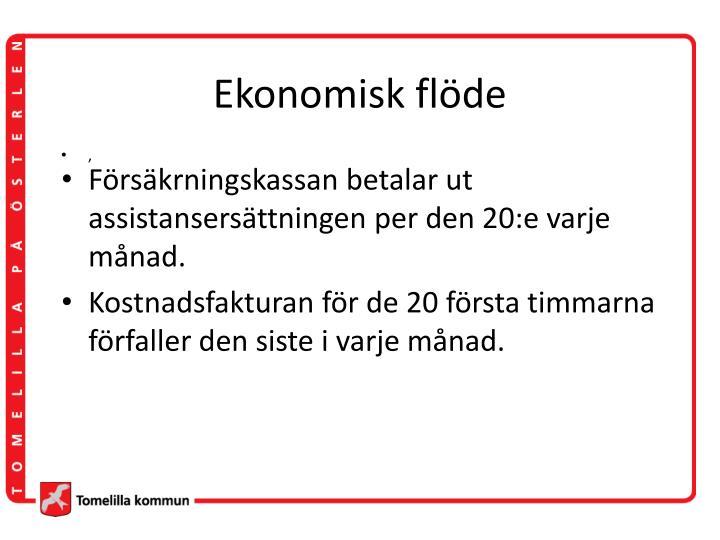 Ekonomisk flöde