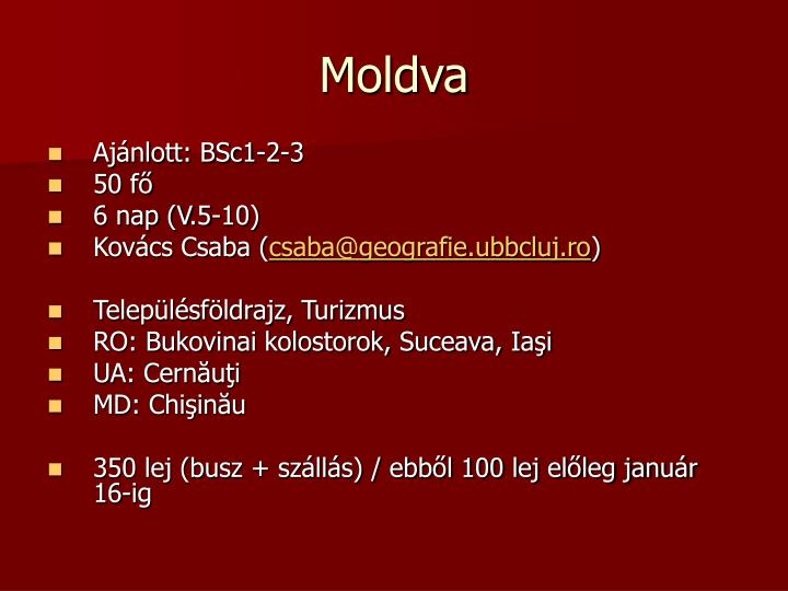 Moldva
