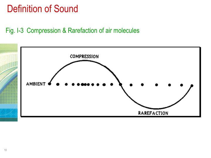 Definition of Sound