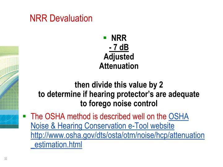 NRR Devaluation