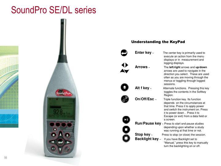 SoundPro SE/DL series