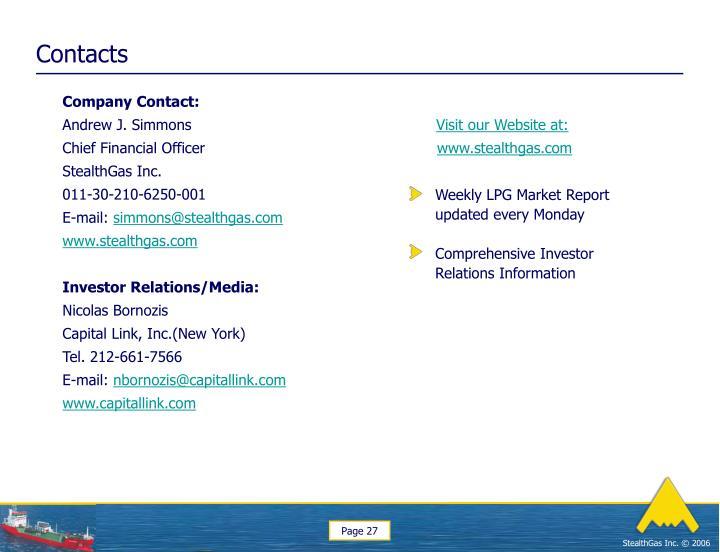 Company Contact: