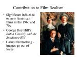 contribution to film realism13